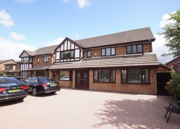Thumbnail 5 bed detached house for sale in Newbridge Close, Callands