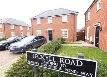 Thumbnail 5 bed detached house for sale in Jeckyll Road, Wymondham