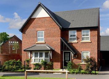 "Thumbnail 4 bed detached house for sale in ""Cambridge"" at Beggars Lane, Leicester Forest East, Leicester"