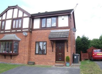 Thumbnail 2 bed semi-detached house to rent in Field Lane, Crewe