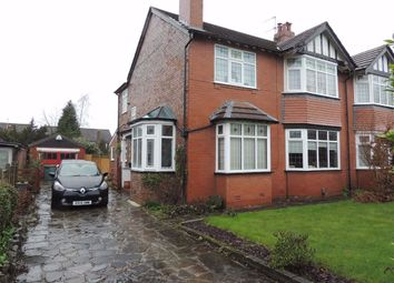 Thumbnail 3 bed semi-detached house for sale in Torkington Road, Hazel Grove, Stockport