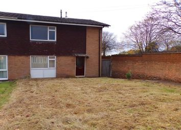 Thumbnail 2 bed end terrace house to rent in Boston Close, Heath Hayes, Cannock