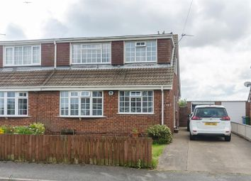 Thumbnail 3 bed semi-detached bungalow for sale in Turner Avenue, Withernsea
