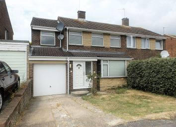 Thumbnail 5 bed semi-detached house for sale in Wylye Close, Swindon