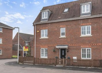 Thumbnail 4 bedroom town house for sale in Battalion Way, Thatcham