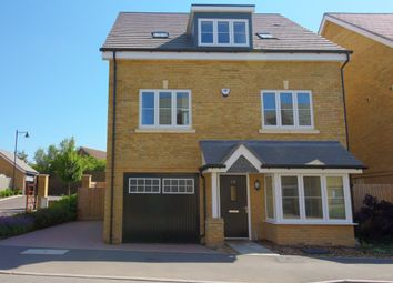 Thumbnail 4 bed detached house for sale in Brookwood Farm Drive, Knaphill, Woking