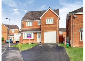 Thumbnail 4 bed detached house for sale in Harding Close, Loughor