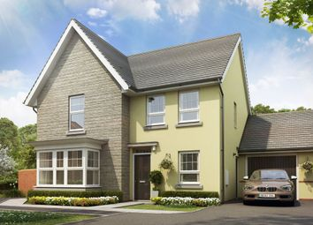 "Thumbnail 4 bed detached house for sale in ""Cambridge"" at Tiverton Road, Cullompton"
