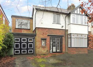 Thumbnail 4 bed semi-detached house for sale in Compstall Road, Romiley, Stockport