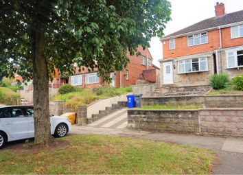 Thumbnail 3 bed town house for sale in Berwick Road, Stoke-On-Trent