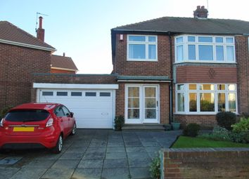 Thumbnail 3 bed semi-detached house for sale in Farringdon Road, North Shields