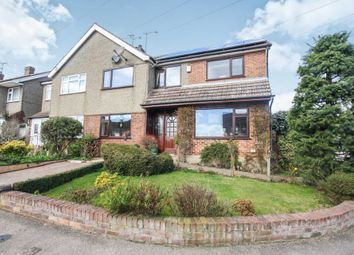 Thumbnail 4 bed semi-detached house for sale in Trinity Road, Great Burstead, Billericay, Essex