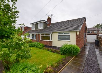 Thumbnail 2 bed semi-detached bungalow to rent in Selworthy Drive, Thelwall, Warrington