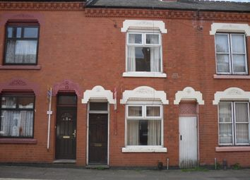 Thumbnail 2 bed terraced house to rent in Linden Street, Evington, Leicester