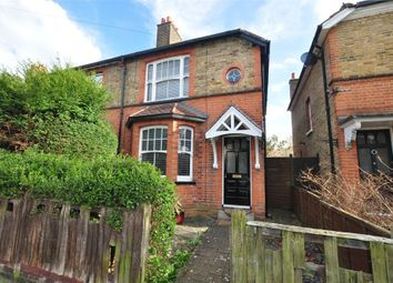 Thumbnail 2 bed semi-detached house for sale in Ruskin Road, Staines Upon Thames, Surrey