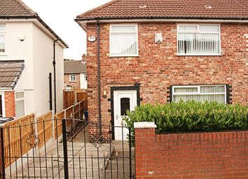 Thumbnail 3 bedroom end terrace house for sale in Deverell Grove, Wavertree, Liverpool