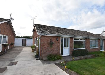 Thumbnail 2 bed semi-detached bungalow for sale in Hawson Close, Scarborough