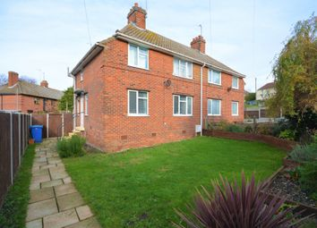 Thumbnail 3 bed semi-detached house for sale in Hill Road, Lowestoft