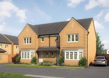 """Thumbnail 3 bedroom property for sale in """"The Epsom"""" at Gidding Road, Sawtry, Huntingdon"""
