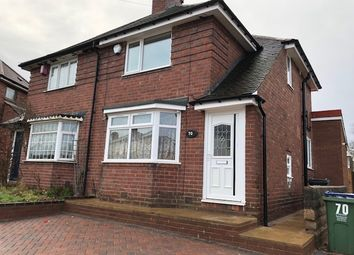 Thumbnail 2 bed semi-detached house to rent in Stanway Road, West Bromwich