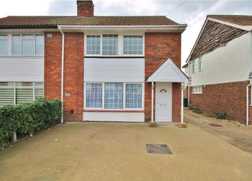 Thumbnail 3 bed semi-detached house to rent in St. Annes Avenue, Stanwell, Staines-Upon-Thames, Surrey