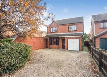 Thumbnail 4 bed detached house for sale in Newark Road, Lincoln
