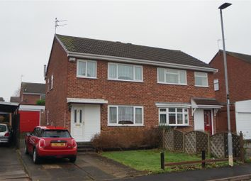 Thumbnail 3 bedroom semi-detached house for sale in Shaw Wood Close, Groby, Leicester