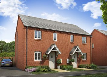 """Thumbnail 3 bed semi-detached house for sale in """"The Hanbury """" at Lodge Road, Cranfield, Bedford"""