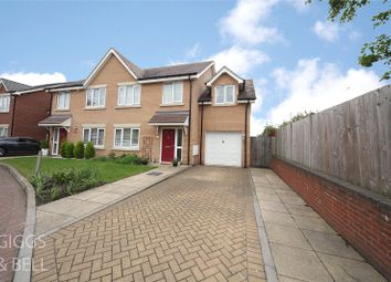 Thumbnail 3 bed semi-detached house for sale in Rockfield Drive, Luton