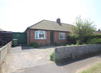 Thumbnail 2 bed bungalow for sale in Hastings Avenue, Hellesdon