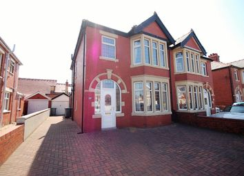 Thumbnail 3 bedroom semi-detached house for sale in St Martins Road, Blackpool, Lancashire