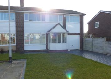 Thumbnail 4 bed semi-detached house to rent in Bramall Close, Unsworth, Bury