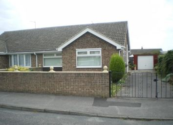 Thumbnail 3 bed semi-detached bungalow to rent in Lombard Crescent, Darfield, Barnsley