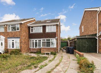 Thumbnail 5 bed semi-detached house for sale in Nightingale Avenue, Seasalter, Whitstable