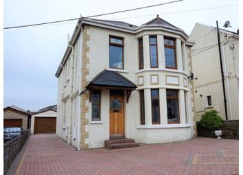 Thumbnail 4 bed detached house for sale in Swansea Road, Gorseinon