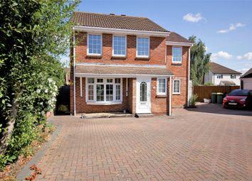 Thumbnail 4 bed detached house for sale in Forties Close, Stubbington, Fareham