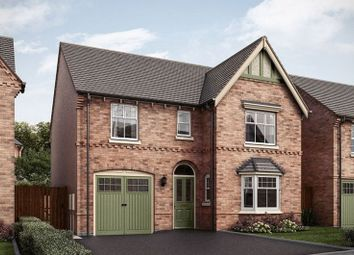 Thumbnail 4 bed detached house for sale in The Featherstone, Hilltop View, Burton On Trent