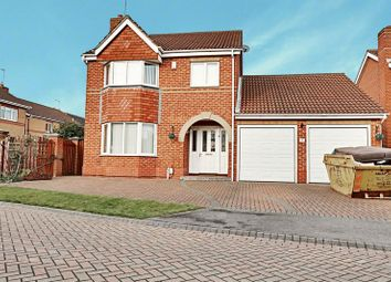 Thumbnail 4 bed detached house for sale in Spinnaker Close, Hull