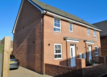 Thumbnail 3 bed semi-detached house to rent in Bowyer Way, Morpeth