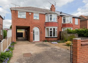 Thumbnail 4 bed semi-detached house for sale in Somersby Avenue, Doncaster