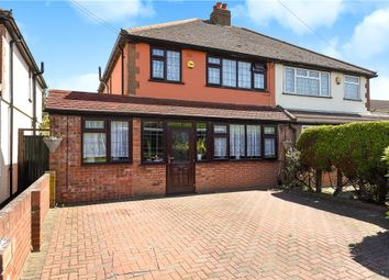 Thumbnail 3 bedroom semi-detached house for sale in Town Lane, Stanwell, Staines-Upon-Thames