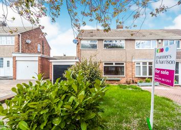 Thumbnail 3 bedroom semi-detached house for sale in Thetford Road, Hartlepool