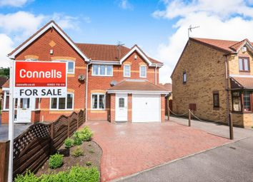 Thumbnail 3 bed semi-detached house for sale in Yare Grove, Riverpoint Estate, Willenhall