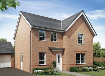 "Thumbnail 4 bed detached house for sale in ""Radleigh"" at Neath Road, Tonna, Neath"