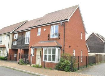 Thumbnail 3 bed semi-detached house for sale in Far Holme, Middleton, Milton Keynes