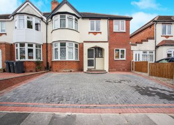 Thumbnail 4 bedroom semi-detached house for sale in Barton Lodge Road, Hall Green, Birmingham