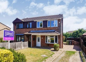 Thumbnail 3 bed semi-detached house for sale in Elsham Crescent, Lincoln