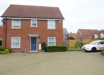 Thumbnail 3 bedroom detached house to rent in Upgate, Long Stratton