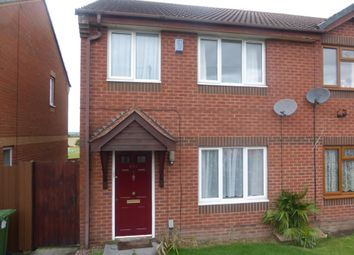 Thumbnail 3 bed semi-detached house to rent in Birchwood Avenue, Dordon, Tamworth