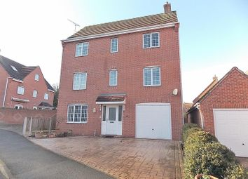 Thumbnail 4 bed detached house for sale in Derbyshire Drive, Castle Donington, Derby
